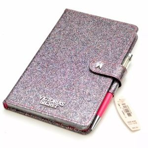 Victoria's Secret Pink GlitterJournal & Pen Set